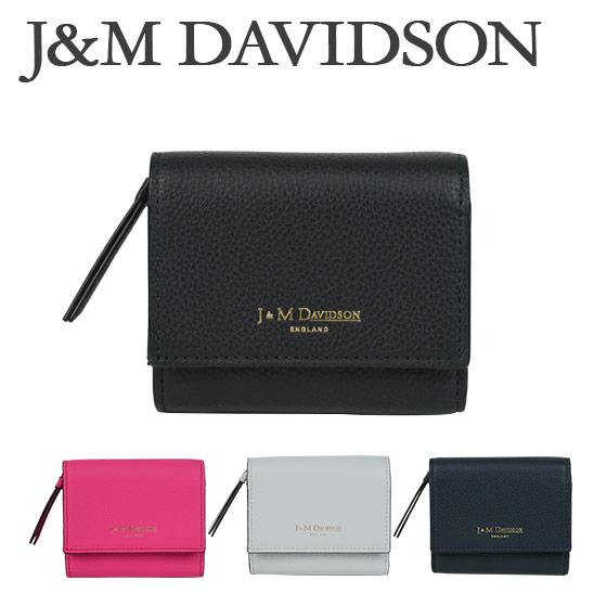 J&M DAVIDSON (ジェイアンドエムデヴィッドソン)ミニ財布 2 FOLD WALLET(トゥー フォルド ウォレット)10149 7470 選べるカラー ギフト・のし可 北海道・沖縄は別途945円加算