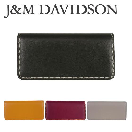 J&M DAVIDSON (ジェイアンドエムデヴィッドソン)長財布 DAVIDSON FLAT WALLET 10223N 7314 選べるカラー ギフト・のし可