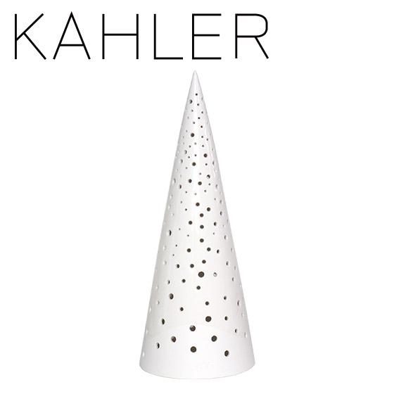 ケーラー ノビリ キャンドルホルダー ツリー(L) H285 KAHLER Nobili candle holder snow white 16212 デンマーク ギフト・のし可