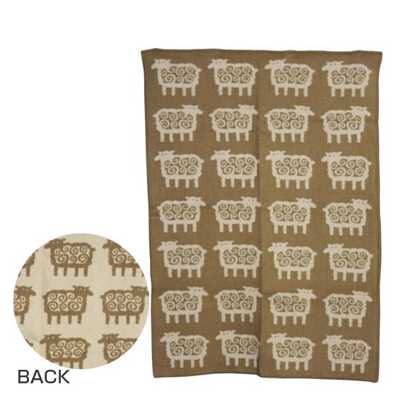 KLIPPAN クリッパン ウールブランケット 90x130 Sheep ベージュ ギフト可