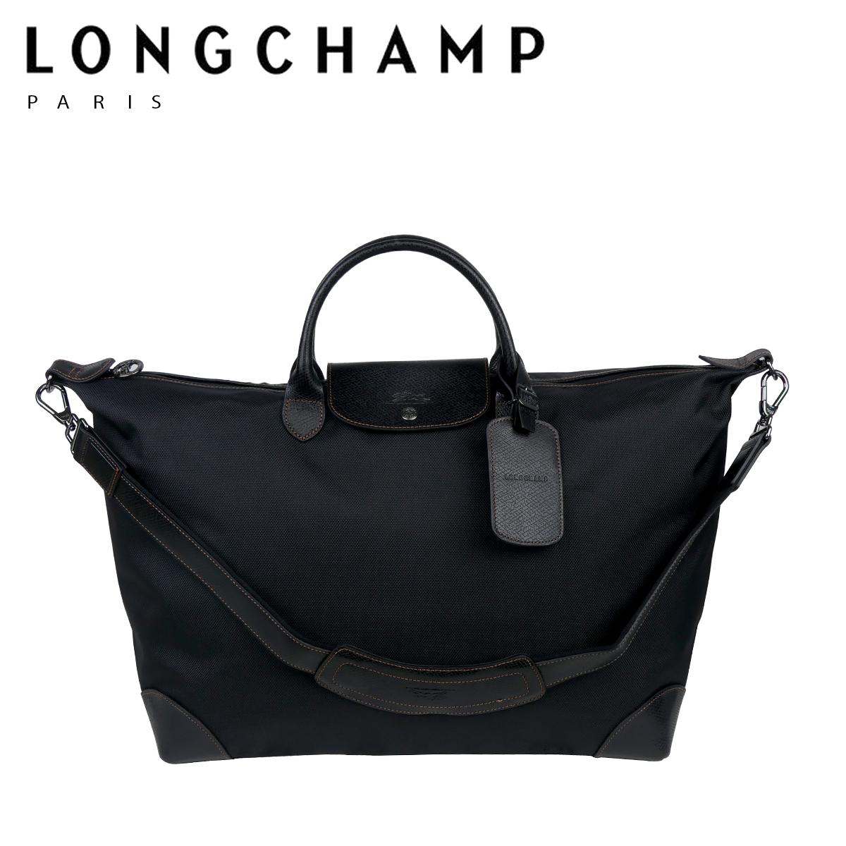 【Max1,000円OFFクーポン】LONGCHAMP ロンシャン ボックスフォード BOXFORD トラベルバッグ 1624-080 ブラック