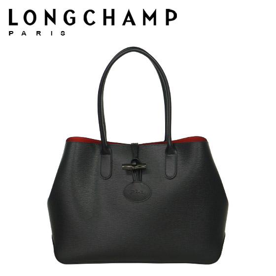 【Max1,000円OFFクーポン】 LONGCHAMP ロンシャン ロゾ トートバッグ 2686 871 ブラック