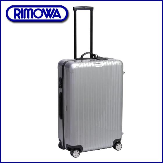 ◆RIMOWA 리모와 TSA 락 모델 876.73 살사 4륜 멀티 휠 silver 캐리어