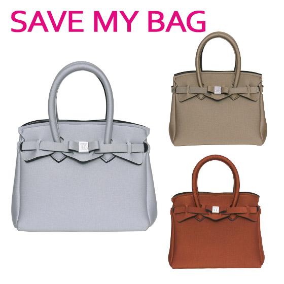 SAVE MY BAG (セーブマイバッグ) PETITE MISS プチ ミス ハンドバッグ 10104N METALLICS(メタリック) 選べるカラー ギフト可 ミニバッグ