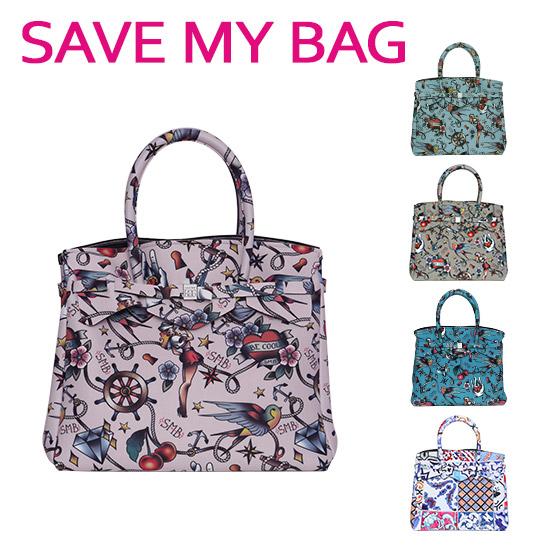 SAVE MY BAG (セーブマイバッグ) MISS 3|4 ミス ハンドバッグ Lサイズ 10304N-LY-ST 選べる柄 北海道・沖縄は別途945円加算