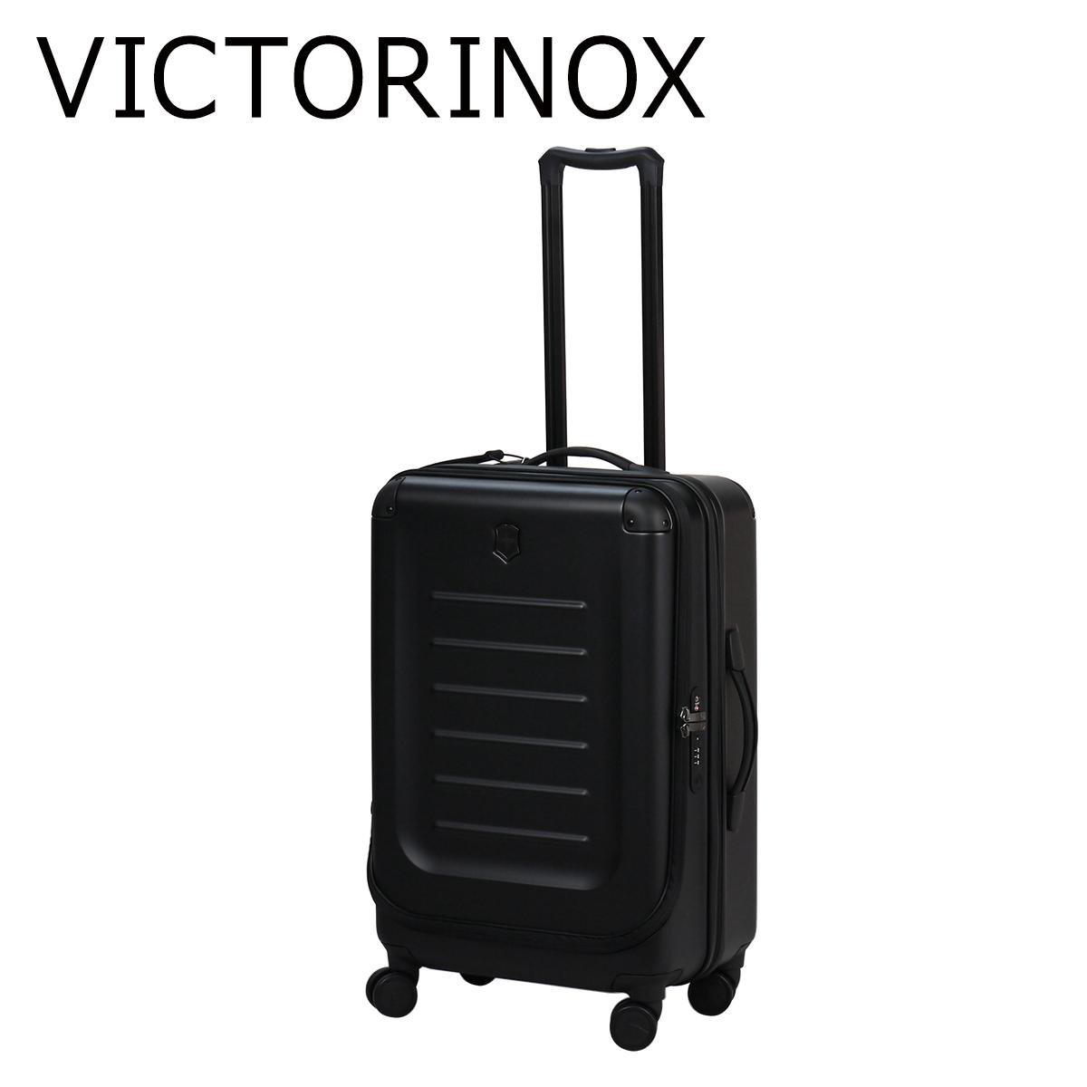 ビクトリノックス(VICTORINOX) キャリーバッグ 601290 スペクトラ2.0 スペクトラ ミディアム エクスパンダブル BLACK ヴィクトリノックス