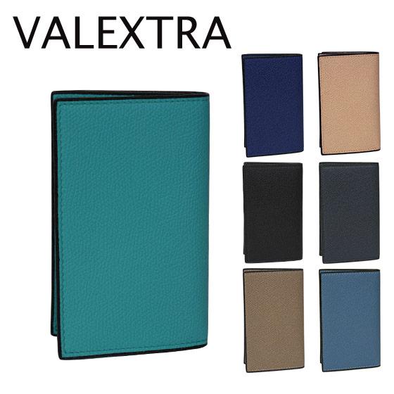 ヴァレクストラ 名刺ケース V8L03 28 選べるカラー カードケース ギフト可 北海道・沖縄は別途945円加算