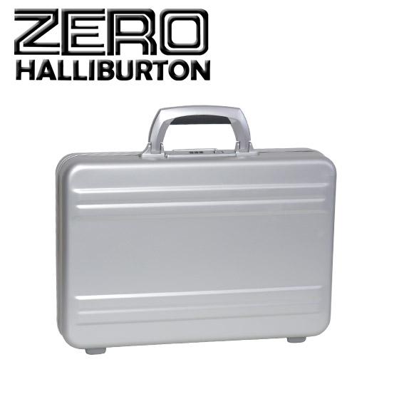 """ゼロハリバートン 3"""" Slimline アルミニウム アタッシュケース/スーツケース Small Attache シルバー 北海道・沖縄は別途540円加算"""