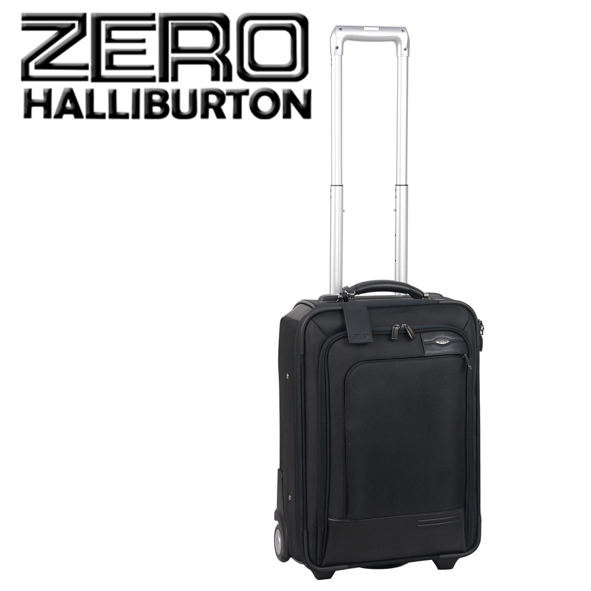 ゼロハリバートン Profile 21IN Carry On Upright キャリーケース 2輪 ブラック 北海道・沖縄は別途962円加算