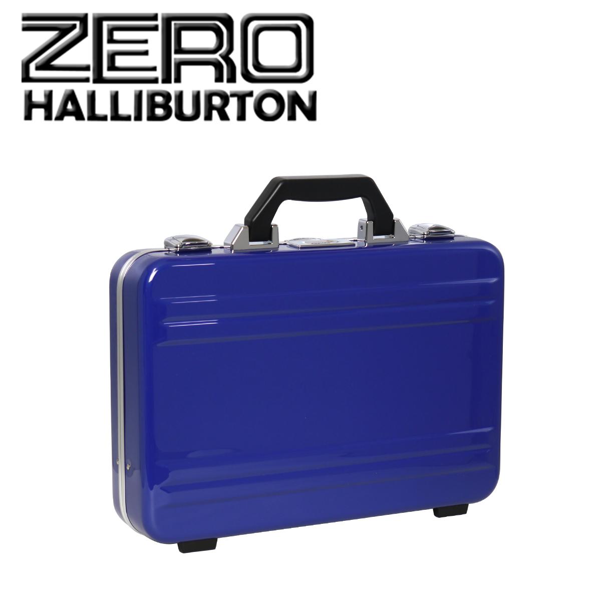 ゼロハリバートン アタッシュケース/スーツケース ポリカーボネート CLASSIC POLYCARBONATE 2.0 ATTACHE Small Framed ブルー