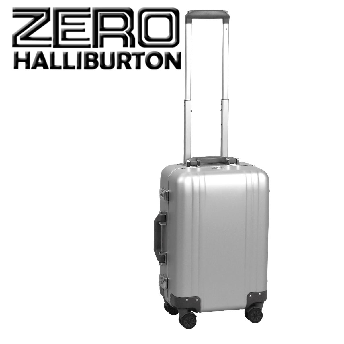 ゼロハリバートン クラシック アルミニウム 2.0 スーツケース/ビジネスケース シルバー Carry-On 4-Wheel Spinner Travel Case 4輪 機内持ち込み 北海道・沖縄は別途945円加算