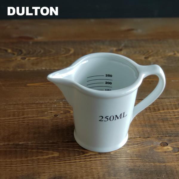 DULTON ダルトン 軽量カップ セラミック メジャーリング ジャグ 贈答 250ml CH05-K211 CERAMIC かっこいい おしゃれ 通信販売 かわいい ホワイト 陶器製 MEASURING JUG