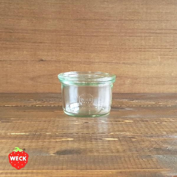 割引 WECK ウェック ガラス容器 WE751 Mold Shape 170ml Mサイズ モールドシェイプ おしゃれ キャニスター かっこいい ジャム 海外 ピクルス 調味料 保存容器 激安特価品