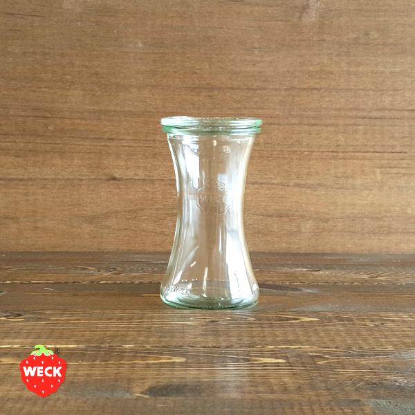 SALE開催中 WECK ウェック ガラス容器 WE995 Delikatessen 180ml Sサイズ 宅送 デリカテッセン ジャム 保存容器 調味料 かっこいい ピクルス キャニスター 海外 おしゃれ