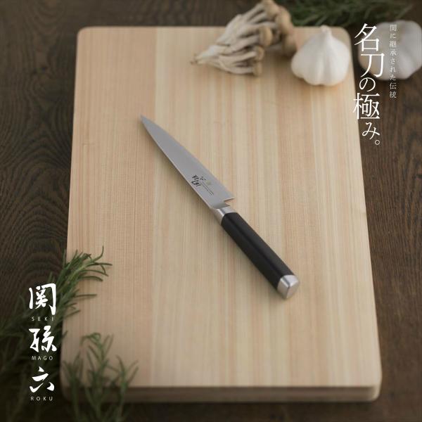 貝印 KAI 国産包丁 関孫六 ダマスカス ペティーナイフ 120mm AE-5202 商品追加値下げ在庫復活 関市 in 特殊ステンレス刃物鋼 SEKIMAGOROKU 日本製 made Japan knife ※アウトレット品 小型包丁