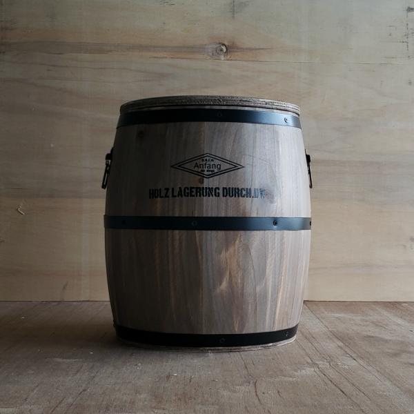置くだけでおしゃれ 収納 樽型スツール M H29cm お洒落 木樽 アンティーク ヴィンテージ かっこいい シンプル かわいい アメリカン 不二貿易 木製 おしゃれ 保証