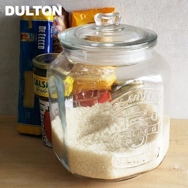 DULTON ダルトン 信憑 ガラス容器 ガラスクッキージャー 7L CH00-H05 お米:5kg用 GLASS COOKIE JAR 保存瓶 保存容器 ガラスジャー 7.0L おしゃれ ガラス瓶 7リットル 米びつ かっこいい 珈琲豆 限定Special Price 米櫃 かわいい ピーナッツジャー