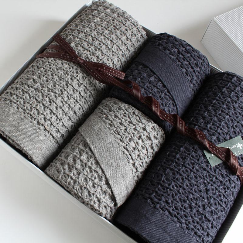 今治タオル ギフトセット コンテックス ブレラimabari towel giftsetKontex Brera XL Size 2枚 × L Size 2枚ギフト包装無料 プレゼント ギフト