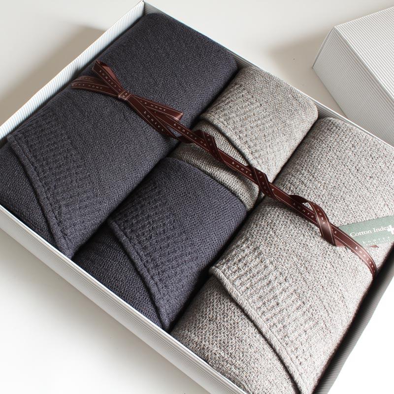今治タオル ギフトセット コンテックス ラーナimabari towel giftsetKontex Lana L size 2枚 x M size 2枚ギフト包装無料 のし無料 ギフト プレゼント