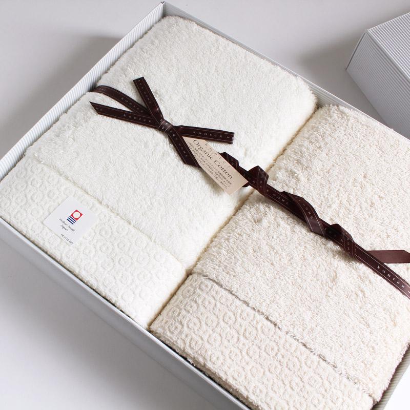 今治タオル コンテックス ピュアオーガニックimabari towel KONTEX PureOrganicバスタオル 2枚 ギフトセットギフトラッピング無料 のし無料 プレゼント