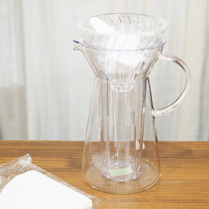 HARIO V60 グラスアイスコーヒーメーカー/VIG-02T