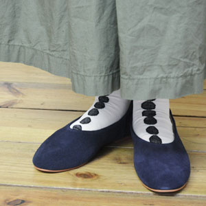 hcubuch(フーブ)Cow suede leather シューズ/H058S