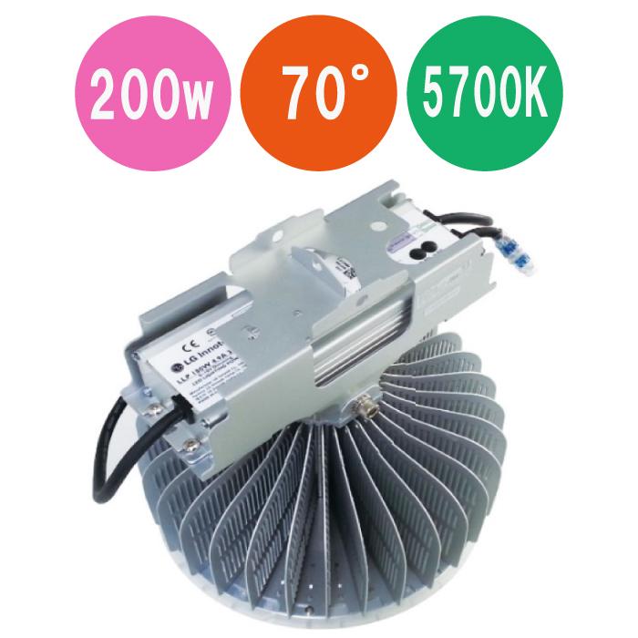 特価キャンペーン LED高天井灯 工場灯 FT-NHB200-70-5700K-PEN 200w 公式 品名:高天井灯 7Y