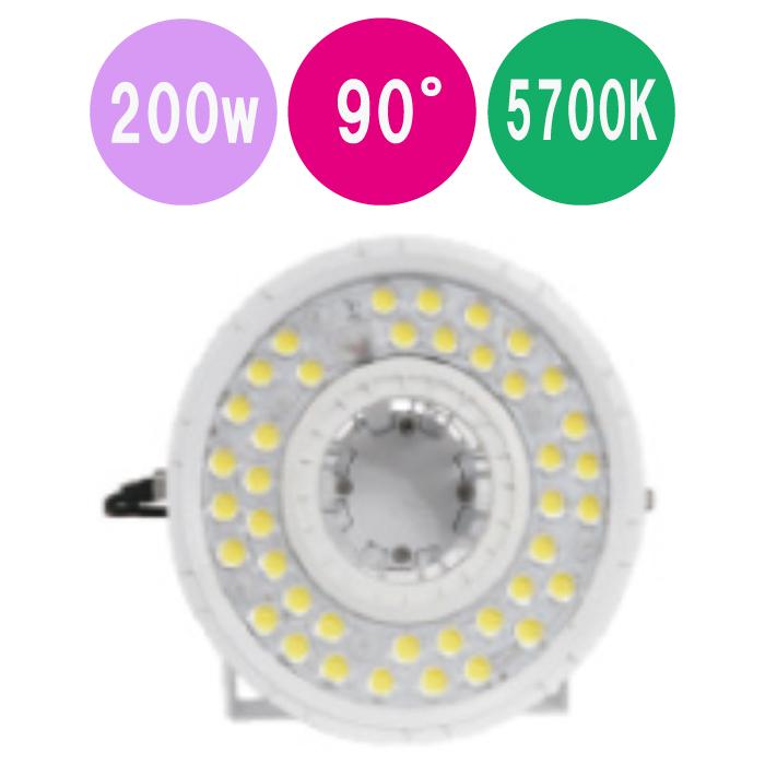 LED屋外投光器 半額 公式ストア HP-KFL-200-90-5700K-BRA 200w 丸形