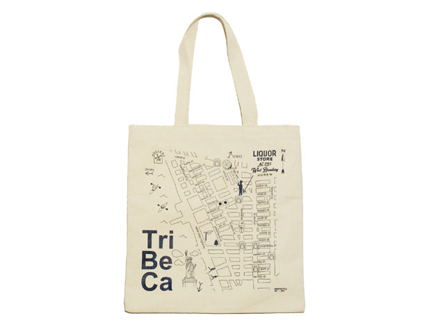 Maptote For J Crew Canvas Tote Bag Cream