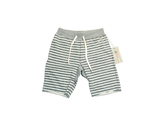 TODO 斯奈德 × 冠军条纹汗短条纹汗短裤 (灰色石南花)