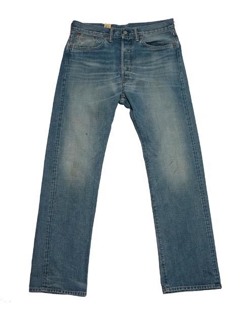 【送料無料!!】 RRL ダブルアールエル Straight-Fit Jean ストレート フィット ジーンズ(HARD WASH)