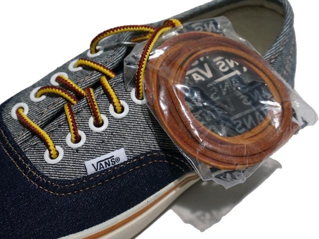 ed2fbf8954e52c J.CREW j. crew Vans for J.Crew two-tone denim authentic sneakers vans for j. crew tow tone denim AuthenTec sneakers (INDIGO DENIM CONTRAST)