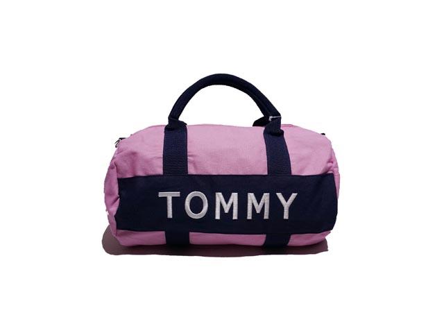 other brand アザーブランド TOMMY HILFIGER ボストンバック 注目ブランド PINK 価格交渉OK送料無料 ミニ ヒルフィガー トミー
