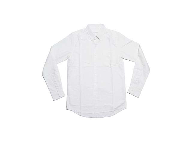 Saturdays Surf NYC Crosby Solid Oxford克罗斯比固体牛津(WHITE)