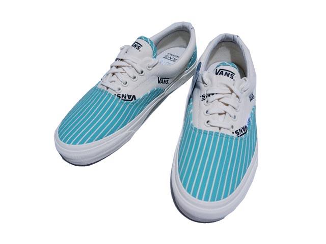 94dc3d2ea53f6f VANS VAULT vans Wald OG ERA LX STRIPES OG Ella LX stripe (TURQUOISE BLUE)