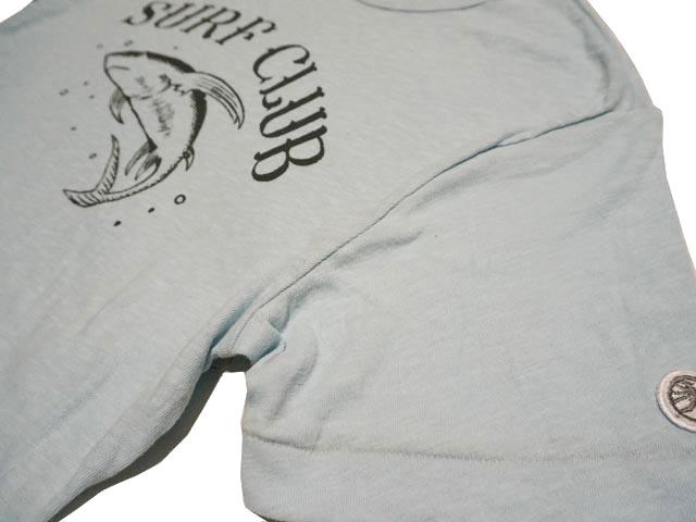 444bf723 TODD SNYDER+CHAMPION Todd Snider champion Surf Club Shark T-Shirt Surf Club  shark T shirt (PALE SURF)
