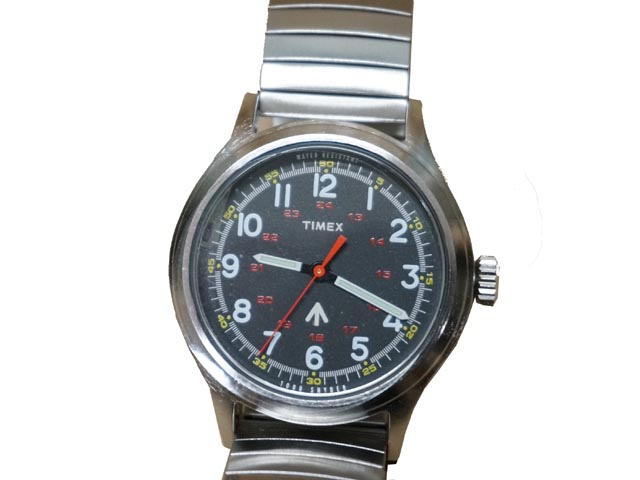 Todd Snyder+Timex托德施奈德Timex Military Metal Band军事金属带(SILVER)