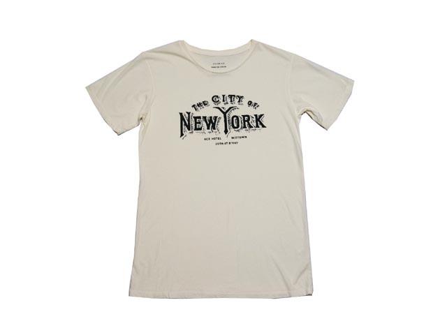 ACE HOTEL エース ホテル The City of NewYork Shirt ジ シティ オブ ニューヨーク シャツ(CREAM)