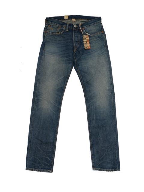 【送料無料!!】 RRL ダブルアールエル Union Standard Slim Fit Denim ユニオン スタンダード スリム フィット デニム(INDIGO)