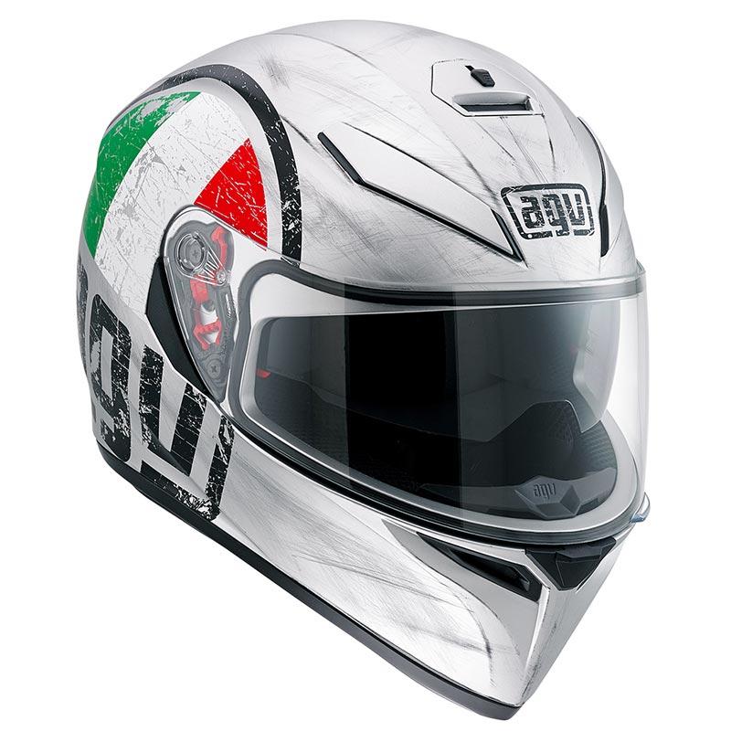 AGV(エージーブイ)フルフェイスヘルメットK-3 SV 018-SCUDETT