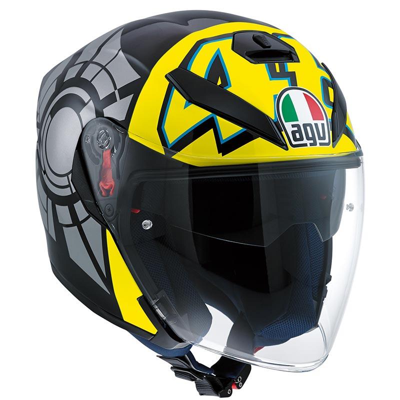 AGV(エージーブイ)ジェットヘルメットK-5 JET/WINTER TEST 2012