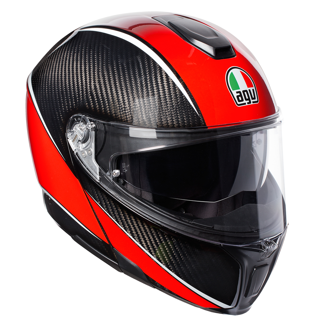 AGV SPM 003-AERO CARBON/RED
