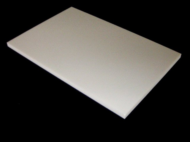 Audio board perfect white 10mm thickness long side 30.1-35cm size made by Cory Ann
