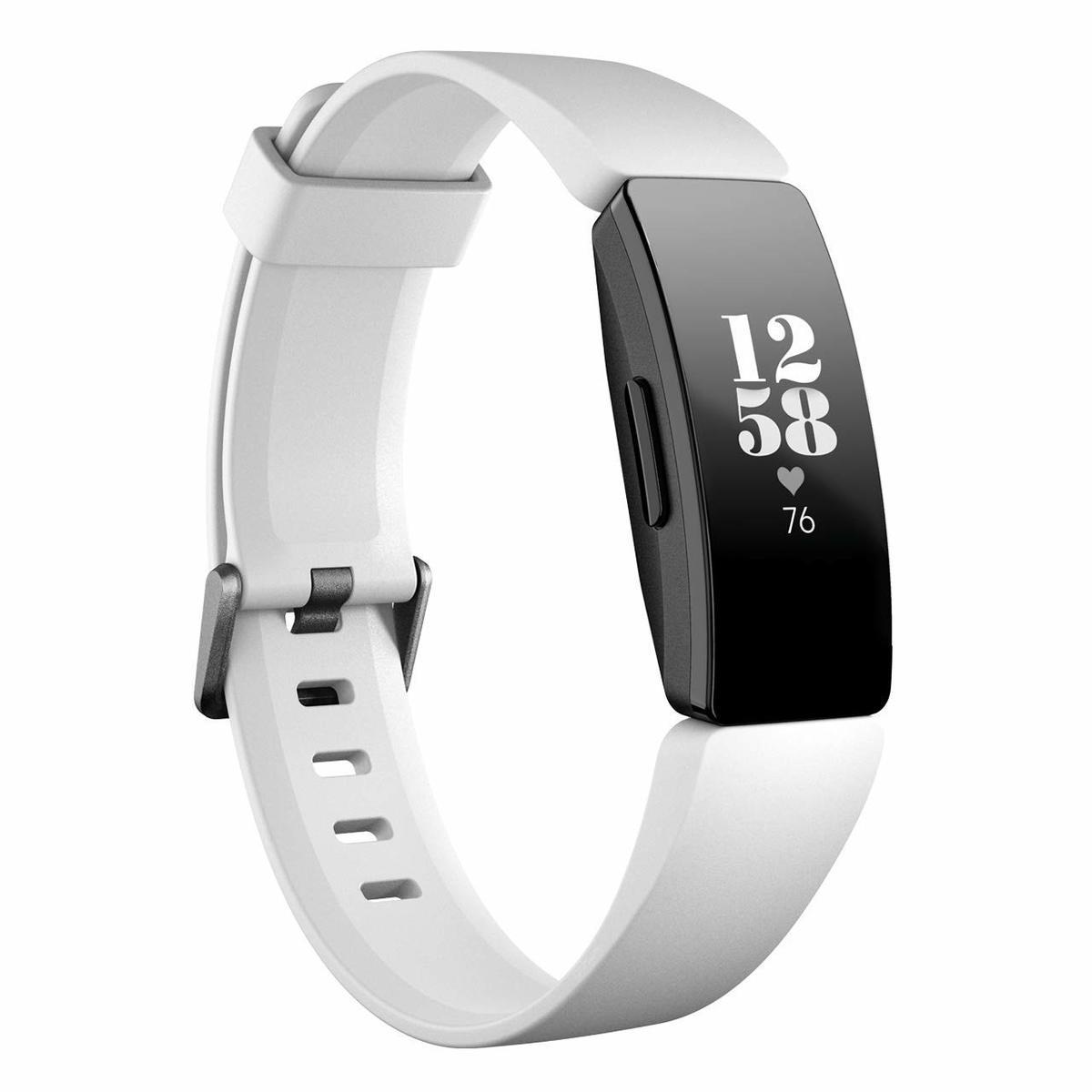 世界最高峰スマートウォッチをあなたの手に スマートウォッチ Fitbit Inspire HR 活動量計 フィットネストラッカー 1着でも送料無料 心拍計 hr 並行輸入品 フィットビット 白 fitbit SALE White inspire インスパイア