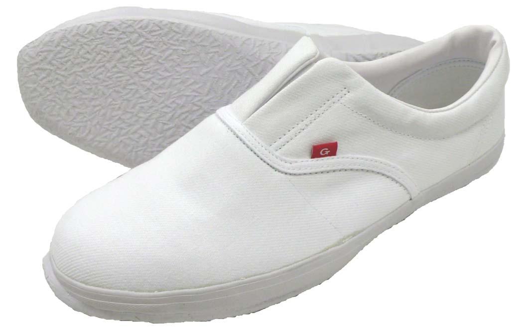 白い靴底の先芯入り作業靴です 作業靴 内装くんG ◆高品質 信用 ガード 男女兼用 N8051 先芯入り