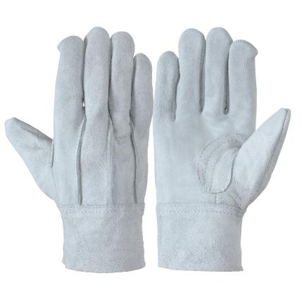 作業革手袋 牛床革手袋 背縫い 120双組 107BC エコノミータイプ