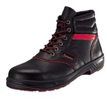 【期間限定!エントリーでポイント10倍】 安全靴 シモンライト SL22-R 黒/赤 SX3層底 Fソール(771610)
