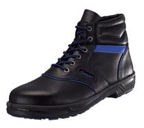 好評 未体験の履き心地 SX3層底Fソール搭載 安全靴 シモンライト SL22-BL Fソール 青 黒 編上 771614 情熱セール