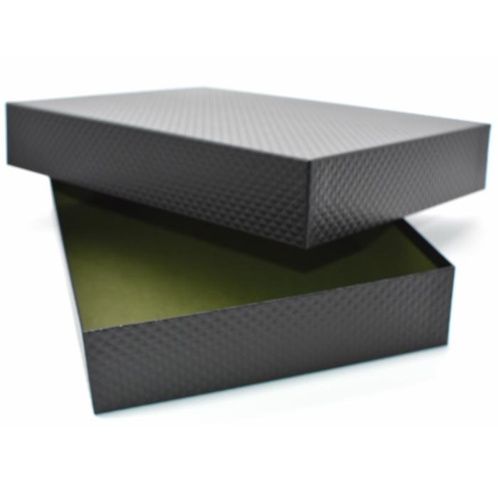 2個以上はこちらがおすすめ 格安 価格でご提供いたします 大人のおしゃれな書類箱 お道具箱黒X緑 B5サイズ 書類収納ケース B5クリアファイルもそのまま入れることができます B5書類は勿論 直営ストア 書類整理ボックスひし形模様