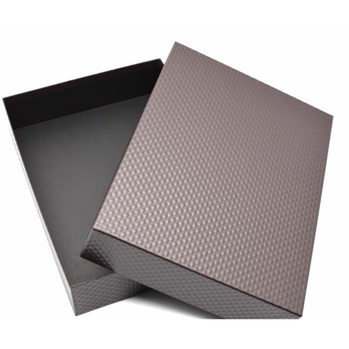 大人のおしゃれな書類箱 お道具箱 茶X黒 B4サイズ 当店限定販売 B4書類は勿論 書類収納ケース 再再販 書類整理ボックスひし形模様 ひし形模様 お道具箱茶X黒 B4クリアファイルもそのまま入れることができます